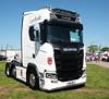 Linroyale Scania S580 FN18BFJ Peterborough Truckfest 2018 (davidseall) Tags: linroyale scania vabis s580 v8 fn18bfj fn18 bfj truck lorry tractor unit artic large heavy goods vehicle lgv hgv peterborough truckfest show may 2018