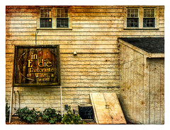 in  E  die (Timothy Valentine) Tags: 2018 large 0518 discarded sign nostalgia abington massachusetts unitedstates us