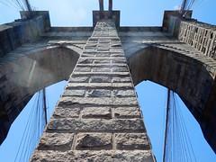 Brooklyn Bridge (kenjet) Tags: ny nyc newyork newyorkcity bridge brooklyn brooklynbridge steel cable cablestayed suspension suspensionbridge steelwire roadwaybridge brick span landmark cablestayedsuspensionbridge steelwiresuspensionbridge structure