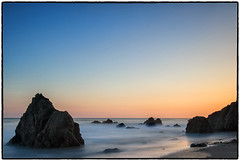 Lechuza Beach, Malibu. (drpeterrath) Tags: canon eos5dsr 5dsr landscape seascape color sunset sunrise rocks beach sea sun sky clouds waves longexposure nature outdoor water pacific ocean malibu losangeles california