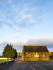 lit by the early moring sun (billdsym) Tags: annan scotland school sunrise building path lines windows