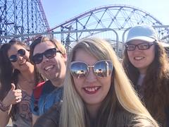 Phone pics (Elysia in Wonderland) Tags: blackpool pleasure beach theme park elysia meryn lucy pete trip big one pepsi max rollercoaster ride