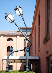 When street lamps fall in love :-)) (pe_ha45) Tags: strasenlaternen streetlamps love liebe murano