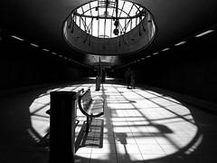 - Platform - (Jacqueline ter Haar) Tags: metrostation station parkweg schiedam rotterdam ret lijnc sunny zonnig daylight circle light shadows explore floor