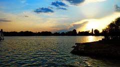 Tata sunset (jens-kristiansoendergaard) Tags: tata lake evening skye warm water