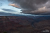 Approaching Snow Showers (kevin-palmer) Tags: grandcanyon grandcanyonnationalpark nationalpark arizona april spring nikond750 clouds overcast stormy cloudy sunrise early morning mohavepoint tamron2470mmf28