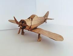 Mitsubishi A6M Zero (orig4mi.) Tags: airplane zero origami paperfolding