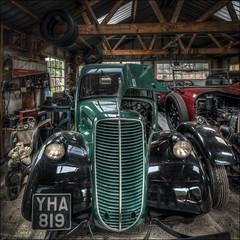 BCLM Garage Interior (Darwinsgift) Tags: bclm black country living museum car garage interior hdr nikkor 19mm f4 pc e merge nikon d850