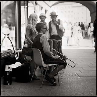 The young musician_Hasselblad
