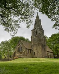 Grindsbrook Booth Church (l4ts) Tags: landscape derbyshire peakdistrict darkpeak valeofedale edale church grindsbrookbooth churchoftheholyandundividedtrinity churchyard