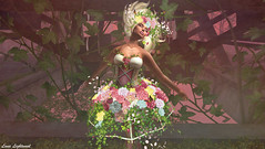 Kiss Me Hard Before You Go Summertime Sadness (Hanna ☾ Luna) Tags: hannahluna secondlife new even swank irrisistible outfit costume spring beautiful poses flowers
