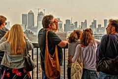 Vista (Geoff Henson) Tags: view vista people skyscrapers platform bags men women railings