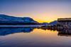 IMGP1525 (jarle.kvam) Tags: valdres lake norway sunset boathouse solnedgang norge mosvatnet fjellvann