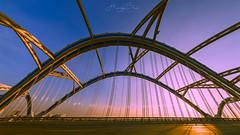 _U1H3222-3226,0716 DONG TRU Bridge-Hanoi (HUONGBEO PHOTO) Tags: cầuđôngtrù sunbeam sunset samyang14mmf28 hdr panorama photography colorful bridge outdoor