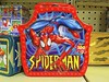 IMG_7477 (kennethkonica) Tags: sign color canonpowershot canon indianapolis indiana indy red midwest usa america puzzle spiderman fleamarket metal shelf