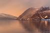 Sunset (Bente Nordhagen) Tags: fjell grøtfjord tromvik vågen landskap nedbør sjø solnedgang