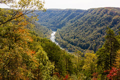 The Beauty of West Virginia (Lauren Delgado) Tags: canon t2i 2470 west virginia wv mountain state mountains scenic drive scenery beautiful fall autumn colors new river gorge