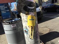 NYC 2018 (bella.m) Tags: graffiti streetart urbanart nyc manhattan usa newyork newyorkgraffiti wheatpaste pasteup phoebe libbyschoettle beconfident