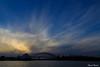 Sunsets aren't always amazing (edzwa) Tags: sydney newsouthwales australia au sunset sky clouds water sydneyharbourbridge sydneyoperahouse sydneyharbour