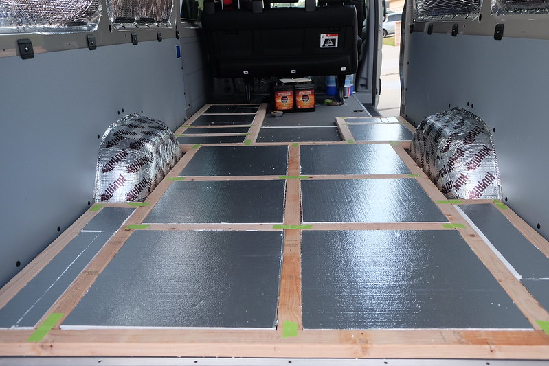 Sprinter van build day 15 042318