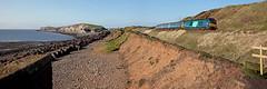 Cat-aclysmic (Richie B.) Tags: 2c42 moss bay salterbeck workington cumbria arriva northern trains drs direct rail services vossloh caterpillar 68004 68017