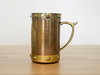 Tribal Tankard (.godo) Tags: vintage etsy stein tankard beer whiskey whisky rum mug metal brass copper rivets tribal mexican aztec mayan pirate cosplay costume prop jacksparrow viking cup mancave boyfriend gift steampunk men