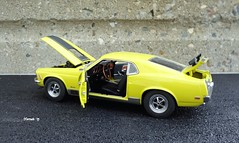 1970 Ford Mustang Mach I 428 Cobra Jet Coupe (JCarnutz) Tags: 124scale diecast danburymint 1970 ford mustang machi cobrajet