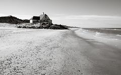 Lonely House (abandoned) (Poul_Werner) Tags: danmark denmark gammelskagen højen skagen beach easter hav ocean påske sea strand northdenmarkregion dk bwartaward