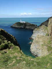 SouthStack (lore.clarke) Tags: lighthouse faro wales paisaje gales sea mar clift acantilado landscape