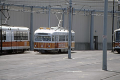 US CA San Francisco MUNI PCC 1006 6-1982 (David Pirmann) Tags: california sanfrancisco muni tram trolley streetcar transit railroad transportation pcc