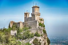 San Marino (Massimiliano Grossi) Tags: sanmarino castello precipizio muraglia nuvole fortezza roccia fujifilmxf1655 xf1655 massimilianogrossi xf1655f28 xt2 xt21655 italy fujinon1655 fujixf1655
