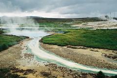 Iceland Adventures ! (Hëllø i'm Wild) Tags: analog film 35mm canonae1 kodakgold200 iceland adventures travel trip nature outdoor hike icelandadventures hveravellir solfataras