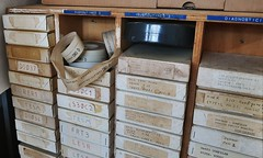 HP 2100A Paper Tapes (stiefkind) Tags: vcfe vcfe19 vintagecomputing hp2100 hp papertape