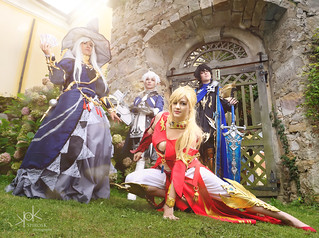 Fotocon 2017: Final Fantasy XIV group photoshoot, by SpirosK photography
