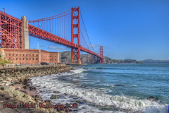 Fort Point View (Michael F. Nyiri) Tags: goldengatebridge sanfrancisco california bridge sky ocean city