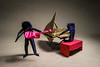 Dueto (Arturo-) Tags: dueto duet baby grand piano violin eric joisel origami paper papel dobradura mini minúsculo pequeno little figura humana cladio acuña j patricia crawford violino music música músico músicos homens pessoas human humans people