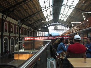 Former Principe Pio train station, 1879 now leisure and shopping precinct: