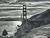 DSC_8258a (garofano_richard) Tags: clouds bridge ocean water rocks tower cars bushes boat signs sanfranciscoca suspensionbridge