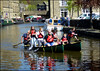 Having fun at the Waterways Festival. (Country Girl 76) Tags: boating skipton waterways festival people water reflections buildings activity north yorkshire