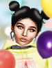 From The Lines (valerietwinkel CLIENT LIST OPEN!!) Tags: secondlife firestorm single closeup virtualwoman virtualworld woman virtual sl face cute world balloons