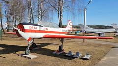 Yakovlev Yak.52 c/n 844709 DOSAAF Aeroclub registration EW-55AM (sirgunho) Tags: belarus minsk museum aviation technology музей авиационной техники yakovlev yak52 cn 844709 dosaaf aeroclub registration ew55am preserved