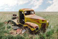 Gutted (Pedalhead'71) Tags: abandoned desert douglascounty farmhouse rural truck washington