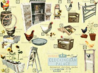 │T│L│C│- illuminate: Cluckingham Palace Gacha