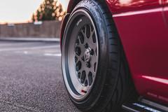 IMG_4513 (tom_acton) Tags: mazda mx5 eunos roadster red sparkle 3m cinder fifteen52 formula tr low sportscar jdm japanese sunset
