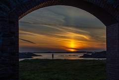 A cloudy evening (evakongshavn) Tags: sunset northsea colors colorful colours blahblahscape evatude evathrilled sunsets water waterscape ocean oceanscape sunsetocean outdoors goout utno