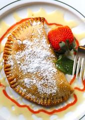 1B5A5640 (David Danzig) Tags: garden gun club the battery atlanta restaurant dessert rhubarb hand pie