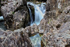 Waterfall at Betws-y-Coed (connorawork1995) Tags: wildlife sea blue colour rocks nature wales water waterfall