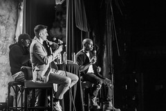 Brilliant Idiots Live (Brother Christopher) Tags: brilliantidiots lsn loudspeakersnetwork sonyhall nyc nights live show performance comedy podcast podcasting livepodcast explore inexplore brotherchris bnw backstage staff charlamagnethagod andrewschulz wax waxing portraits fun