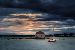 The Island ... (Ludovic Lagadec) Tags: fil2017 lorient etel riviere river rivage ria saintcado boat seascape sky sea sunset marin marée mer morbihan water world bretagne breizh brittany classic