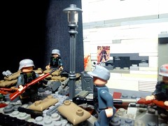 "LEGO M.O.C. ""The Defense Of Berlin""  P.S. Did specifically for the contest (A.V.V.) Tags: moc lego thedefenseofberlin ww2"